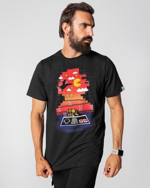 Super Mario Muska Majica Game Over